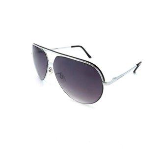 Óculos Solar Prorider Detalhado Com Lente Degradê Fumê Masculino