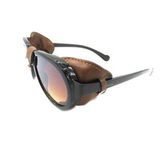Óculos Solar Prorider Retrô Detalhado com Lente Degradê Masculino