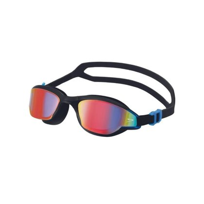 Óculos Speedo Flow Unissex - Preto/Vermelho UN