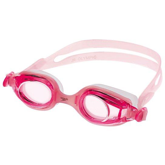 Óculos Speedo Olympic Infantil - Rosa Claro+Pink