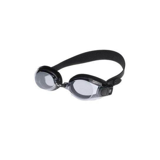 Óculos Zoom Arena X-Fit Preto/Cinza Lente Fume - Preto