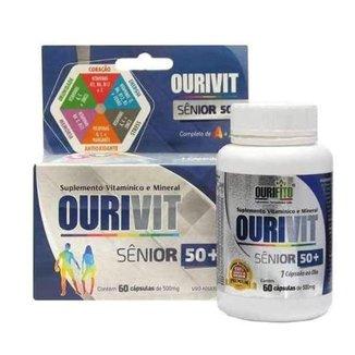 Oferta Ourivit Senior Idoso 60 Caps igual Centrum Vitaminas