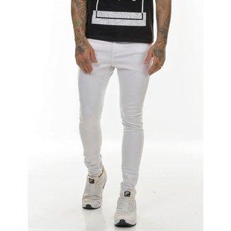 OFFERT Calça OFFERT Jeans Premium Limited Edition  Branca Skinny Branco 42