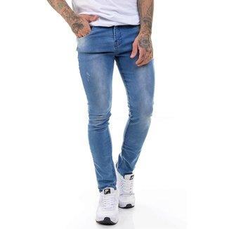 OFFERT Calça OFFERT Jeans Premium Super Skinny Azul Aço 36