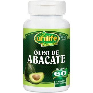 Óleo de Abacate 60 cápsulas de 1200mg