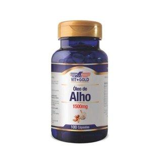 Óleo de Alho 1500mg - 100 Cápsulas - VitGold