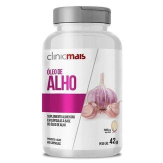 Óleo de Alho 500mg Clinic Mais 60 cápsulas