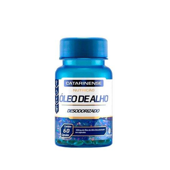 Óleo de Alho Desodorizado - 60 cápsulas - Catarinense -