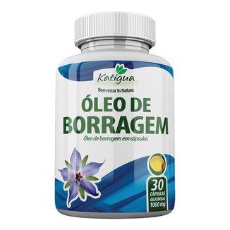 Óleo de Borragem - 30 Cápsulas - Katigua
