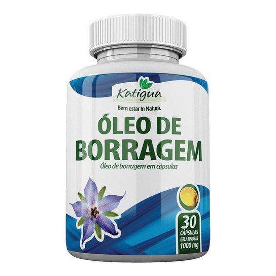 Óleo de Borragem - 30 Cápsulas - Katigua -