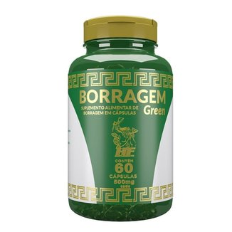 Oleo De Borragem Green Hf Suplements 60 Caps