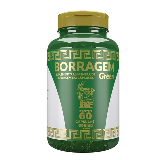 Oleo De Borragem Green Hf Suplements 60 Caps -