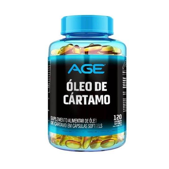 Óleo De Cártamo (120 Cápsulas) - Age -