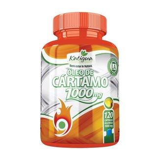 Óleo de Cártamo 1000mg - 120 Cápsulas - Katigua