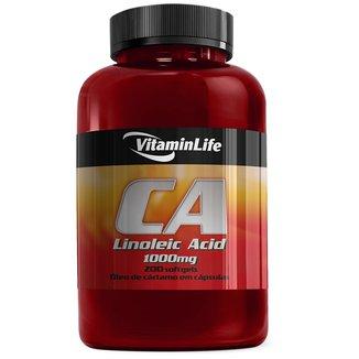 Óleo de Cártamo CA (Linoleic Acid) 1000 mg 200 Cáps. - Vitaminlife