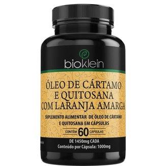 Óleo de Cártamo e Quitosana  60 Cápsulas  Bioklein