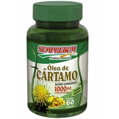 Óleo de Cártamo - Semprebom - 60 caps -1000 mg