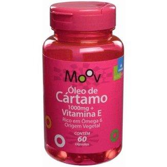 Óleo De Cártamo + Vitamina E p/ Menos Gordura Abdominal 60 Cápsulas