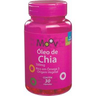 Óleo de Chia 500mg Rico em Ômega 3 Origem Vegetal 30 Cápsulas