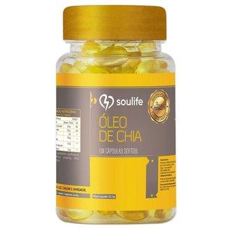 Óleo de Chia Soulife 500mg - 60 Cáps