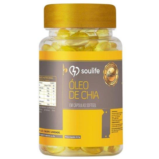 Óleo de Chia Soulife 500mg - 60 Cáps -
