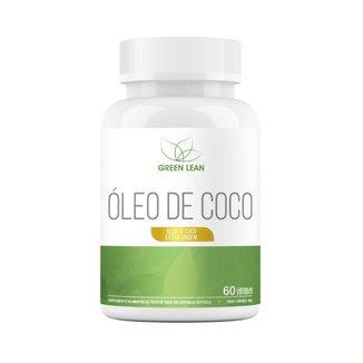 ÓLEO DE COCO (60 softgels) - GREEN LEAN