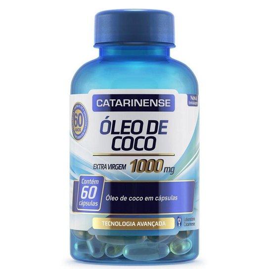 Óleo de Coco - 60 cápsulas - Catarinense -