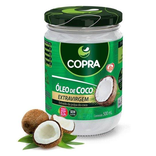 Oleo De Coco Copra Extra Virgem 500 Ml -
