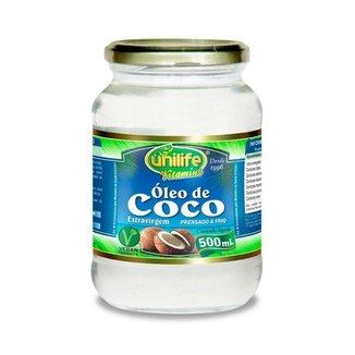 Óleo de Coco Extra virgem - 500 ml - Unilife