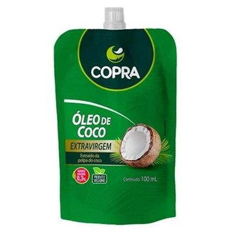 Óleo de Coco Extravirgem 100ml pouch - Copra