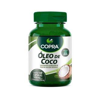 Óleo de Coco Extravirgem 120 cápsulas - Copra