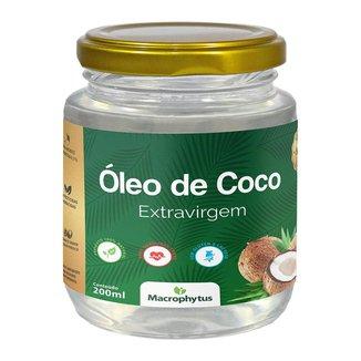 Óleo de Coco Extravirgem 200ml