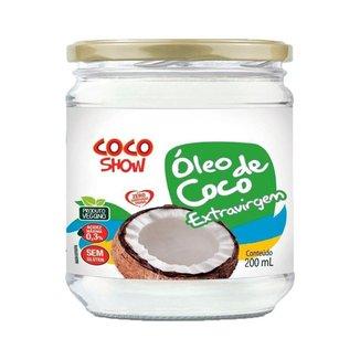 Óleo de Coco Extravirgem Coco Show 200ml - Copra