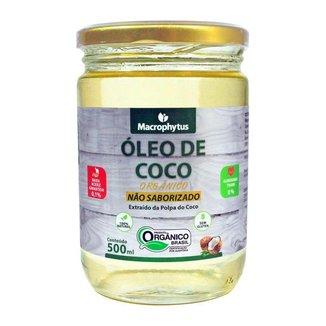 Óleo de Coco Não Saborizado Orgânico 500ml