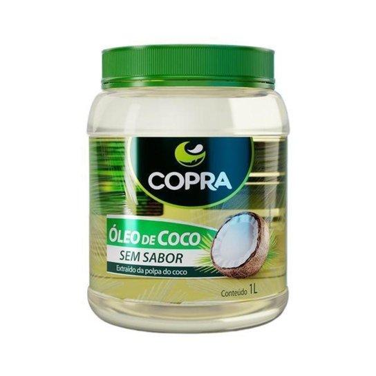 Óleo de Coco sem sabor 1000ml - Copra -