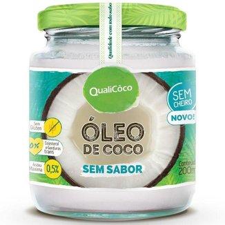 Óleo de Coco Sem sabor 200ml Qualicôco