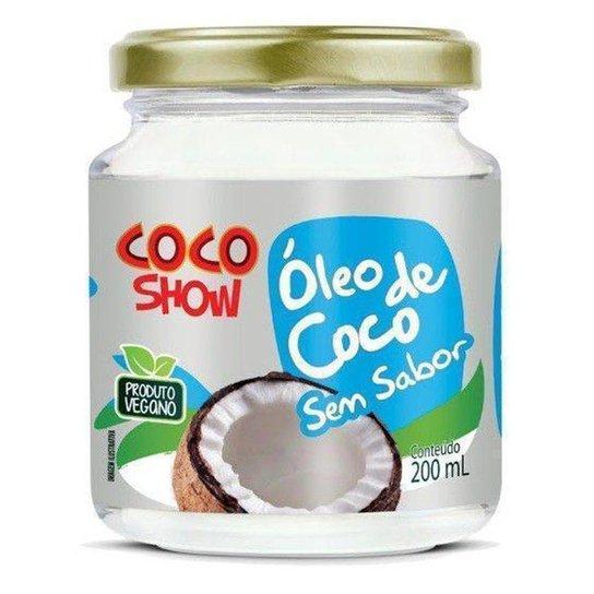 Óleo de Coco sem sabor Coco Show 200ml - Copra -