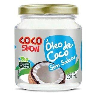 Óleo de Coco sem sabor Coco Show 200ml - Copra