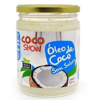 Óleo de Coco sem sabor Coco Show 500ml - Copra