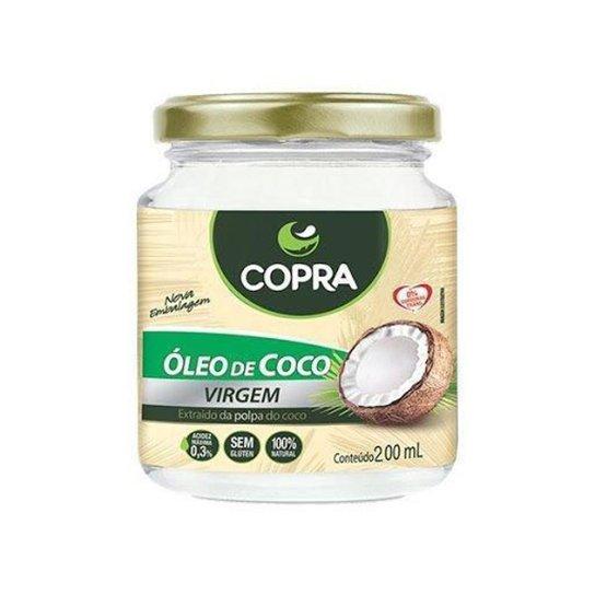 Óleo de Coco Virgem 200ml - Copra -