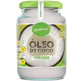 Óleo de Coco virgem 500ml Qualicôco