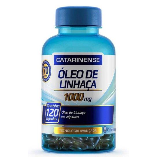 Óleo de Linhaça - 120 cápsulas - Catarinense -
