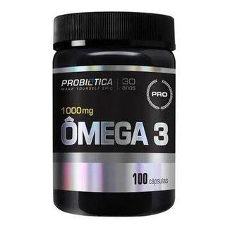 Óleo de Peixe Omega 3 100 Capsulas Probiótica