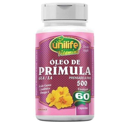 Óleo de Prímula 60 cápsulas Unilife