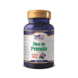 Óleo de Prímula GLA/LA - 100 Cápsulas - VitGold