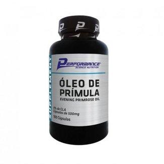 Óleo de Prímula Performance Nutrition -  100 Cápsulas
