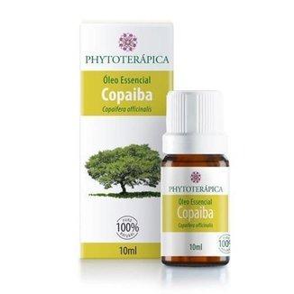 Óleo Essencial Copaíba Destilada 10ml Phytoterápica