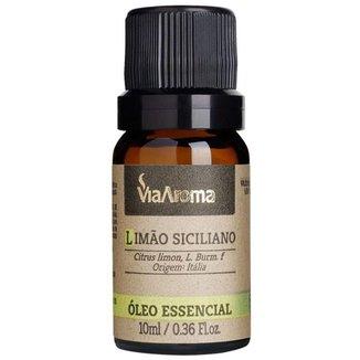 Óleo Essencial de Limão Siciliano 10ml - Via Aroma