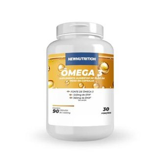 Ômega 3 120 caps NewNutrition