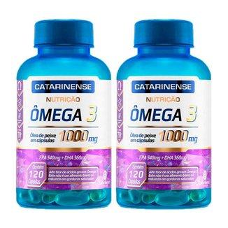 Ômega 3 - 2x 120 cápsulas - Catarinense